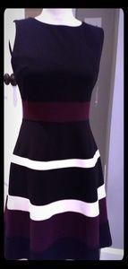TH dress w/ stripe accents